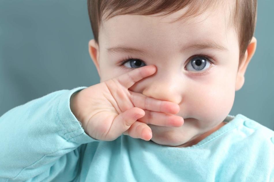 Аллергическая заложенность носа у детей