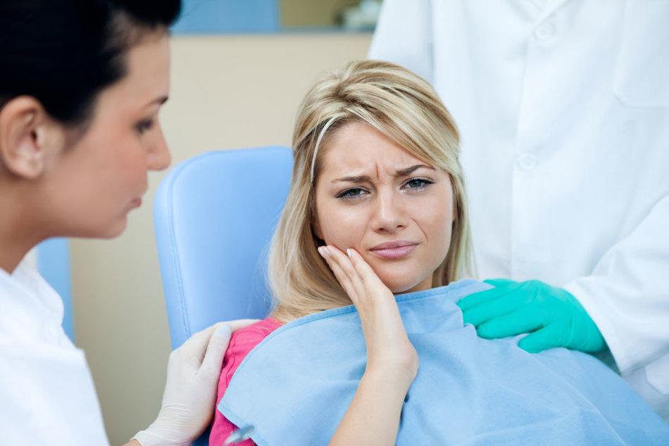 Отечность после удаления зуба