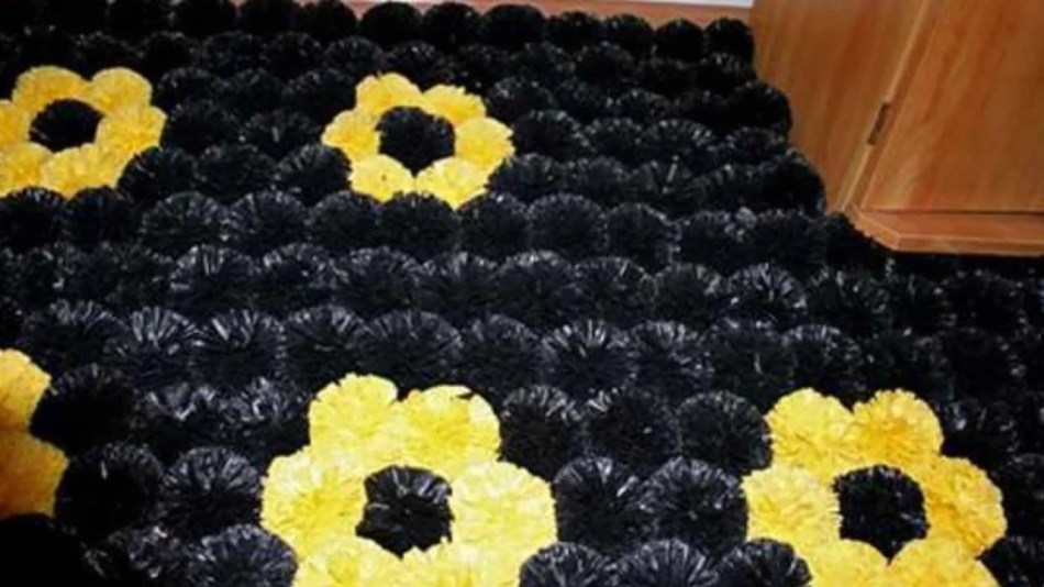 ac49c51366da7f5ca9aeb7d78b540bff Коврики своими руками - 80 фото идей создания входных и напольных ковров