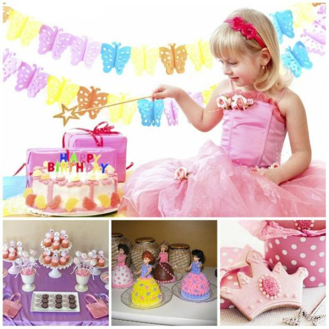 Как украсить комнату на день рождения девочки в диснеевском стиле