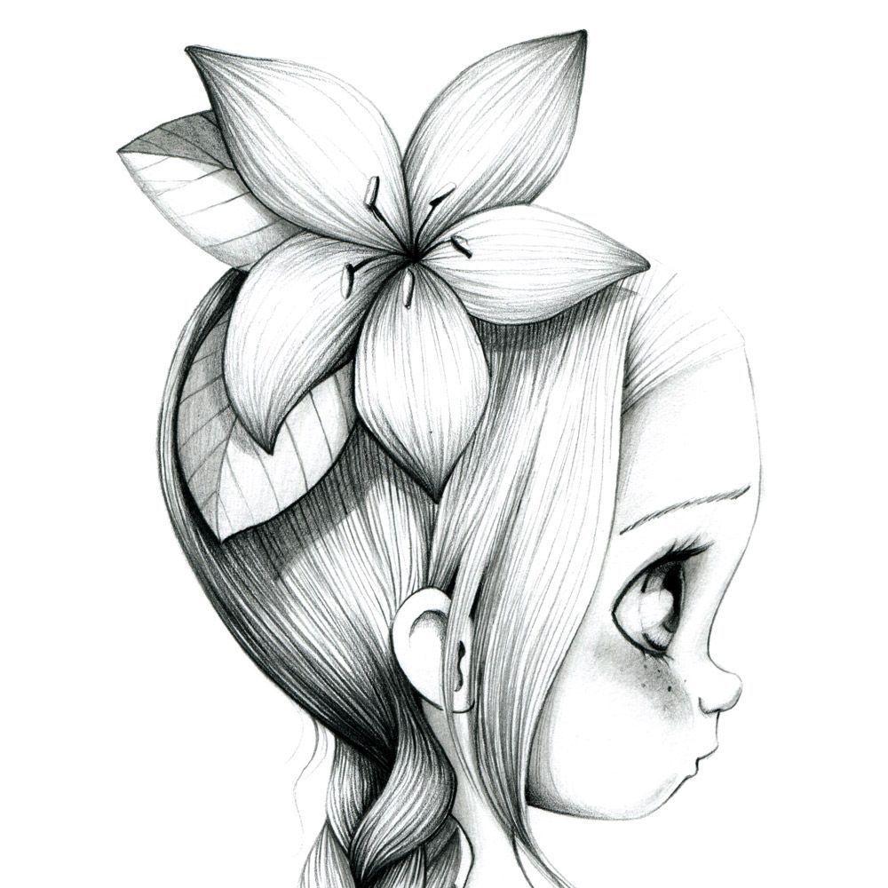 Интересные картинки срисовать карандашом