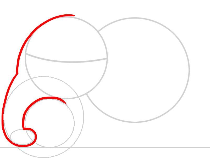 kak-narisovat-slona-karandashom-dlya-detei-i-nachinayushih-risuem-lob-i-hobot-zhivotnogo Как нарисовать слона поэтапно: 5 вариантов как легко и просто нарисовать слона карандашом