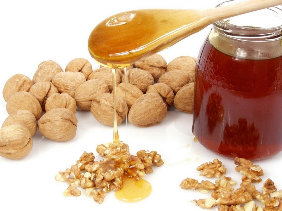 Медово-ореховая смесь