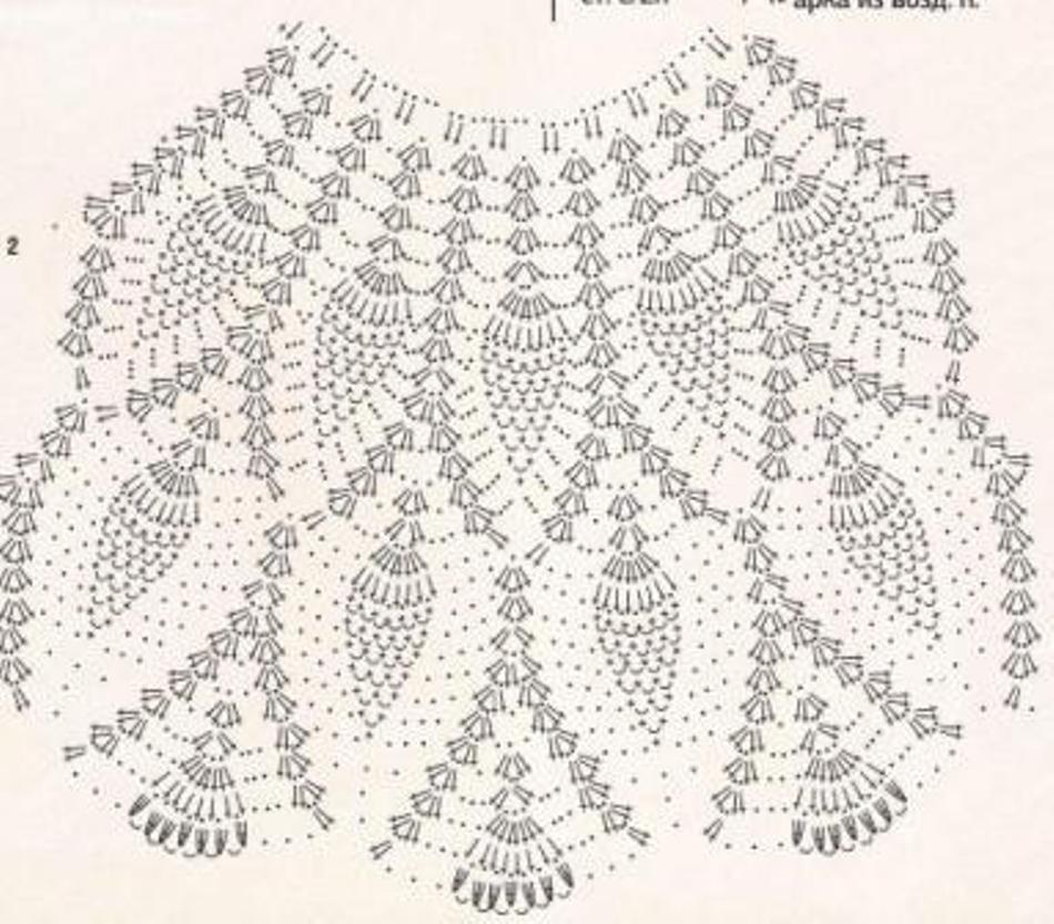 Платье снежинка крючком схема фото 162