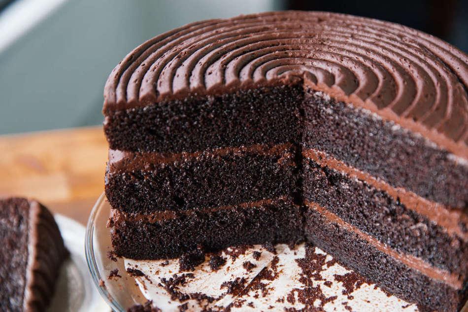 простой шоколадный торт рецепт с фото пошагово счастью, ужасно