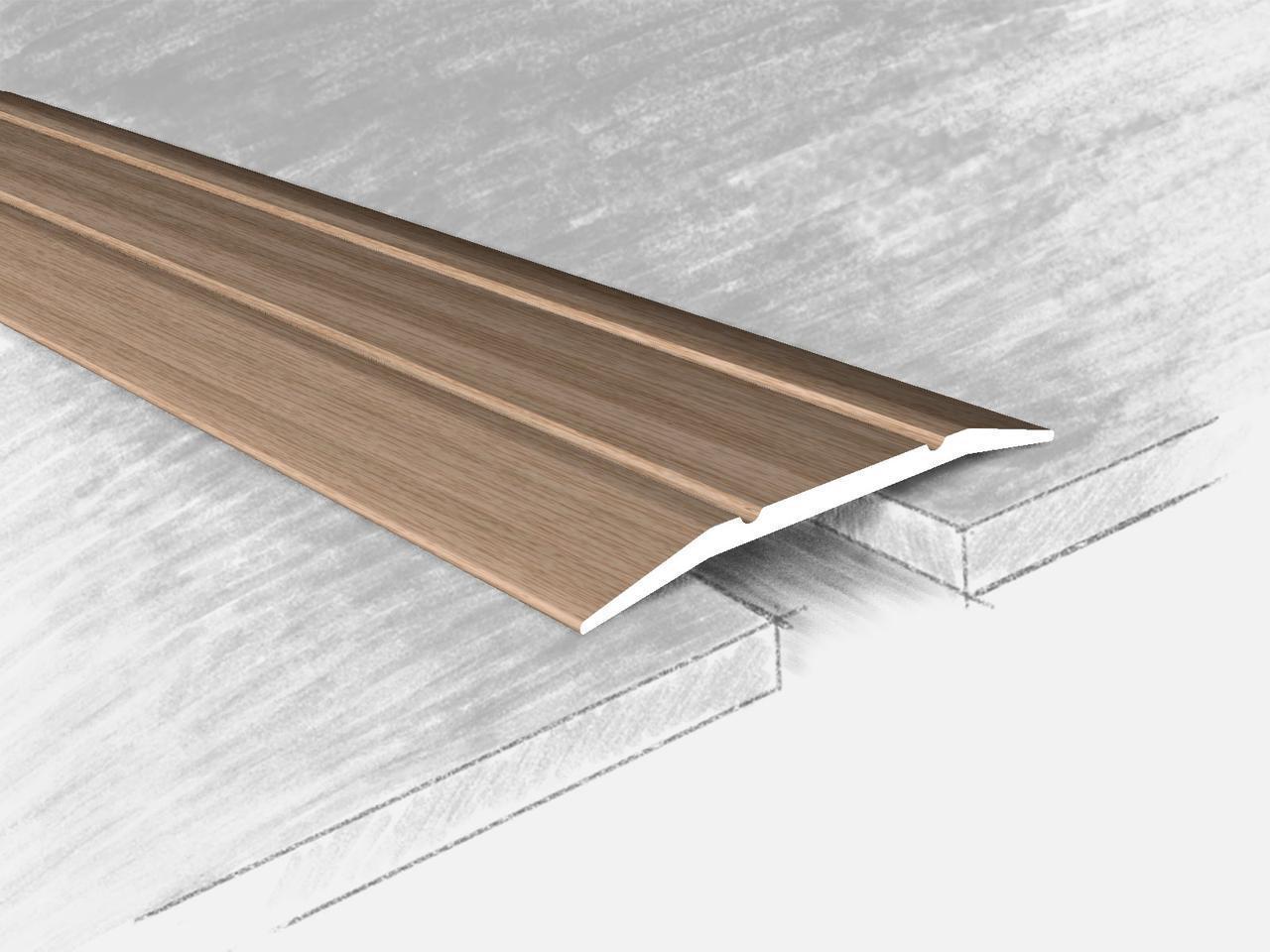 Алюминиевый порожек для линолеума