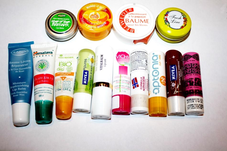 Перед нанесением макияжа для губ следует использовать бальзамы - выбор их достаточно широк