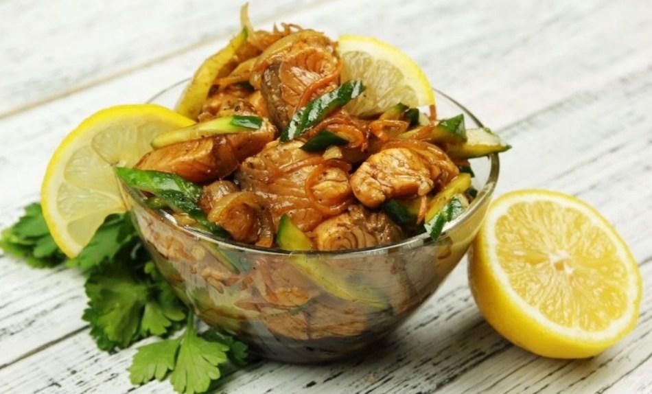 Как приготовить хе из рыбы – рецепты