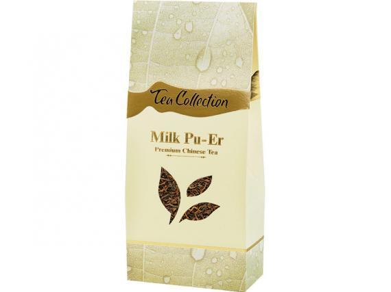 Молочный пуэр имеет не сильный привкус молока