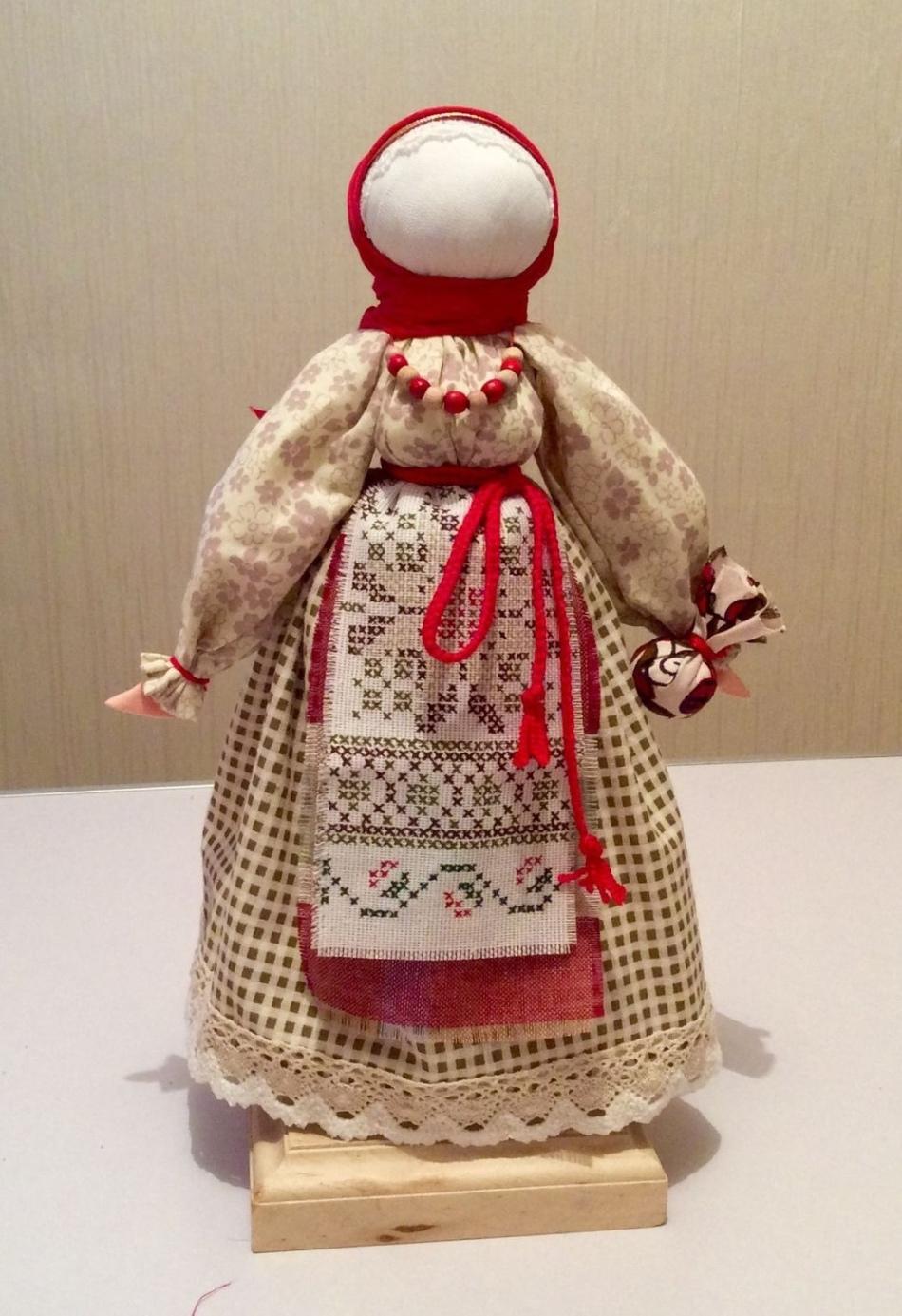 Куклы обереги своими руками из ткани значение фото 876