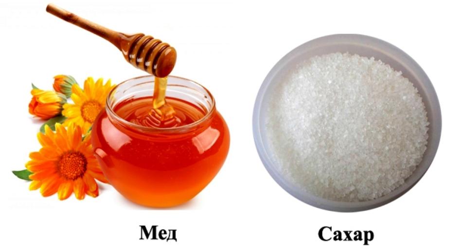 Если сахар заменить медом можно ли похудеть
