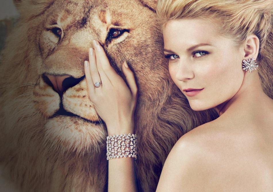 Женщина-лев крайне уверена в себе