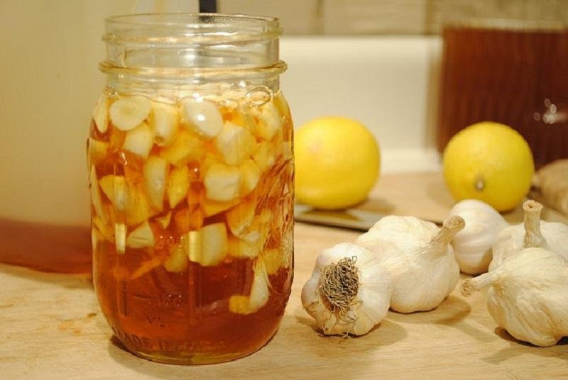 Чеснок с лимоном от глистов