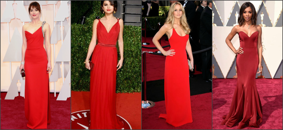 d01df429888 С чем сочетать красное платье