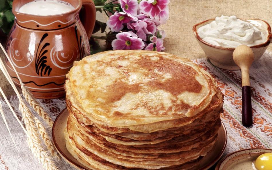 Традиция печь блины берет корни у славян