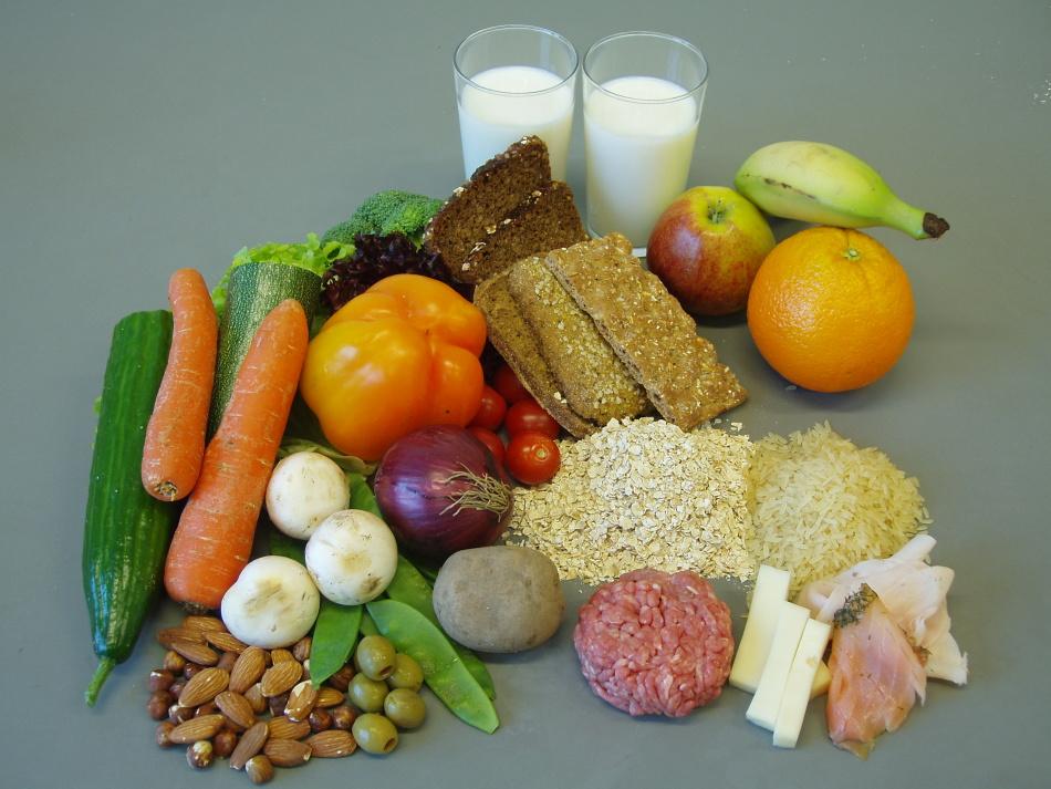 Низкокалорийные овощи, фрукты и другие продукты