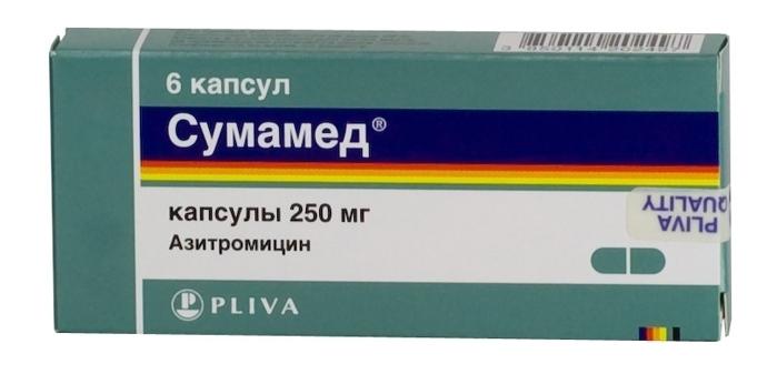 Сумамед - лекарство от гайморита