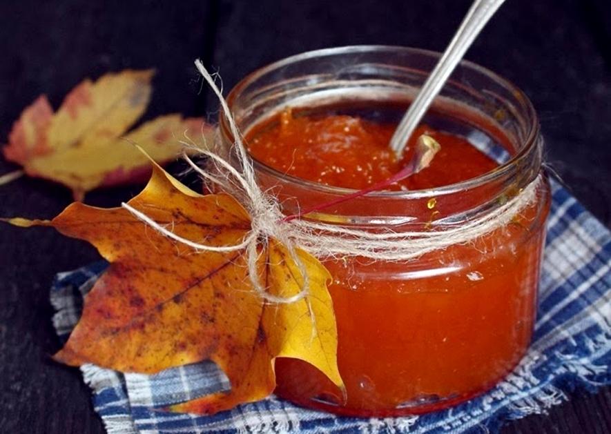 Тыквенно-апельсиновое варенье от осенней хандры