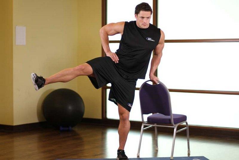 Максимально сосредоточьтесь на технике выполнения упражнения