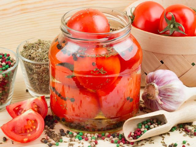 помидоры десертные на зиму рецепт без желатина
