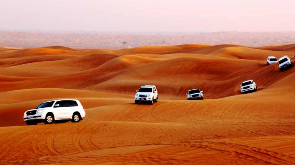 Пустыня в арабских эмиратах