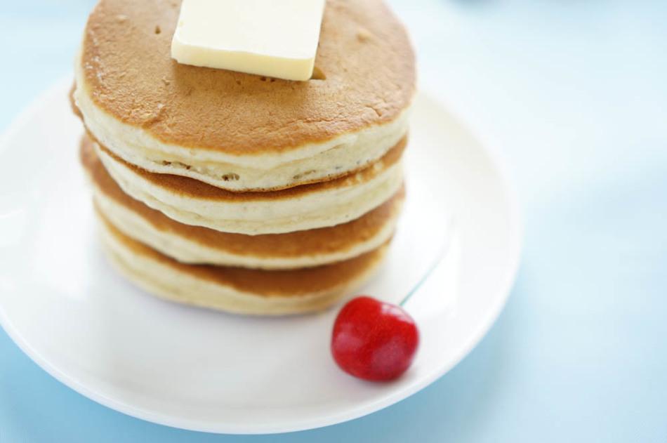 Панкейк - традиционный американский завтрак