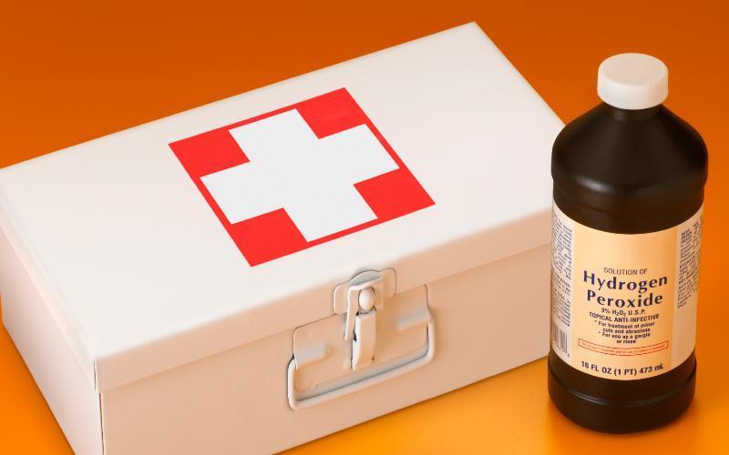 Перекись водорода считается антисептическим средством #1 во всем мире
