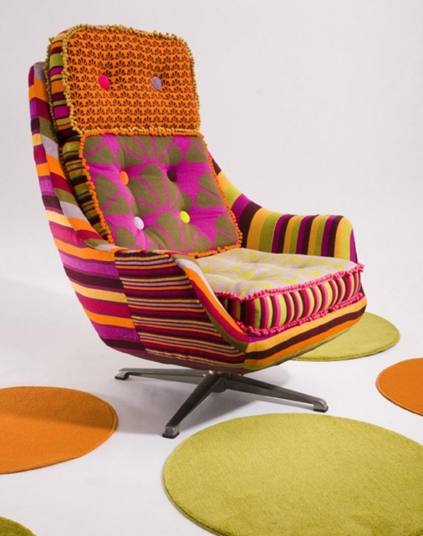 dekupazh-kresla-tkanyu Декупаж мебели фото до и после.Техника декупажа мастер класс. Декупаж мебели для начинающих, пошагово, салфетками, тканью, обоями, красками, в стиле прованс. Все для декупажа с Алиэкспресс