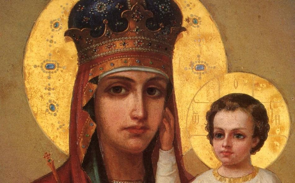 Икона божьей матери обещает сновидцу поддержку и помощь в его начинаниях.