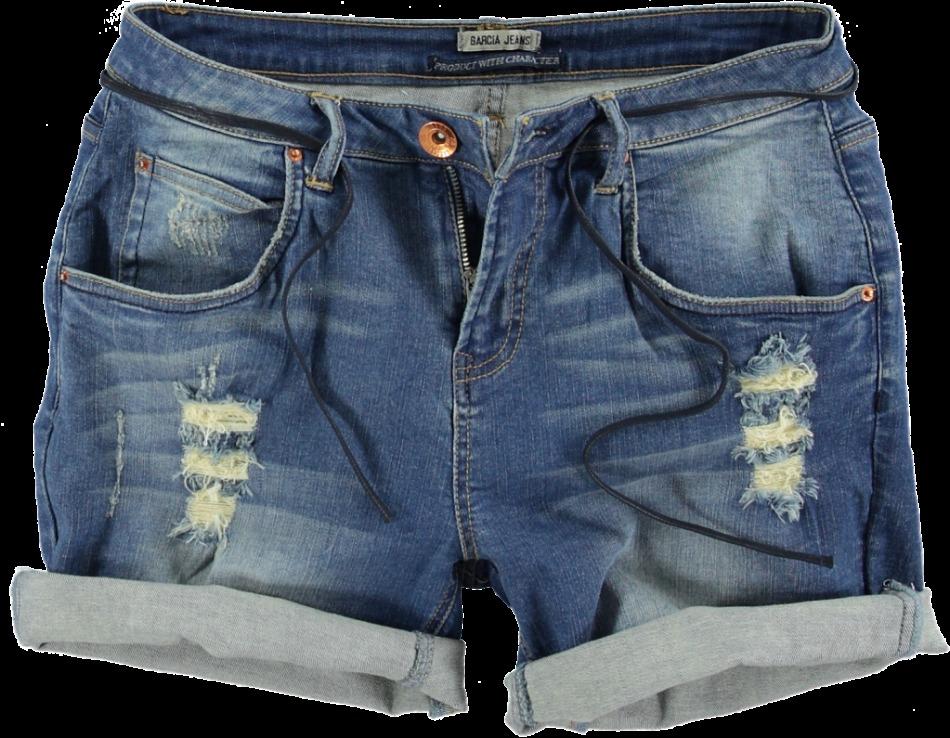 Как сделать шорты с подворотом из джинс