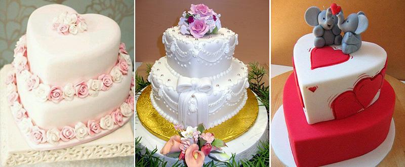 prazdnichnie-dvuhyarusnie-torti Украшение торта своими руками в домашних условиях