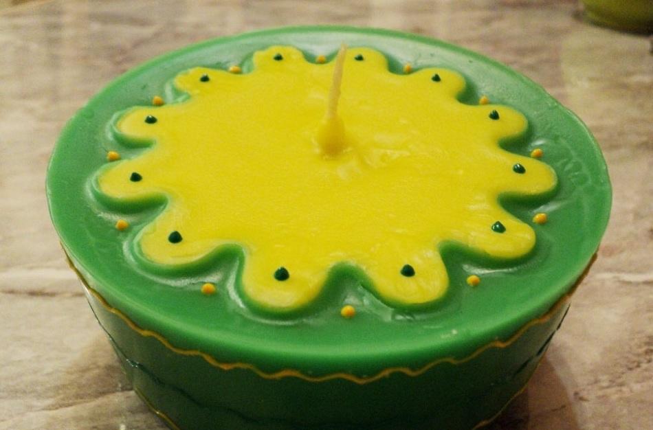 variant-dekora-dlya-svechi Новогодние свечи своими руками