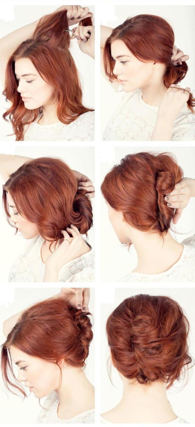 Как сделать ракушку на длинные волосы своими руками