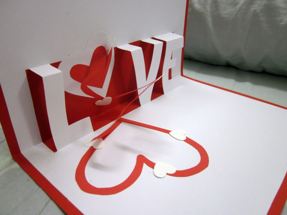 Как сделать мужчине открытку на день святого валентина, днем рождения пожеланиями