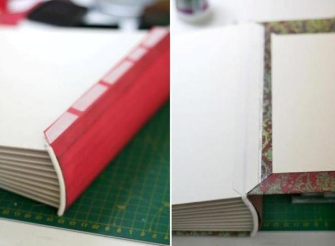 pereplet-v-stile-skrapbukinga-shag-5 Как сделать в технике скрапбукинг кулинарную книгу своими руками