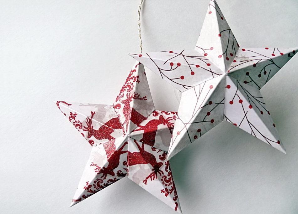 zvezdochki Как сделать объемную звезду из бумаги своими руками: 3D звезда оригами, объемная звезда к Новому году, звезда-оригами четырехконечная, звезда Фребеля — интересные идеи для поделок