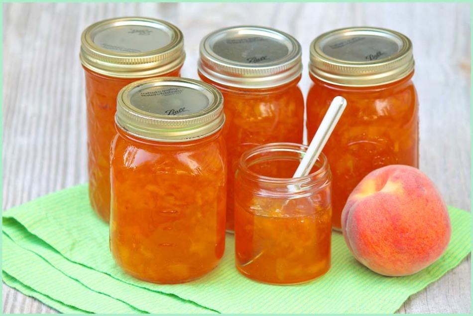 Варенье из апельсинов и персиков