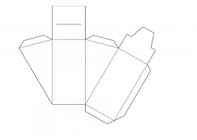 bb059ec0c2b1bf531792c9955e3600d2 Нарядная коробочка для упаковки подарка из подручных материалов