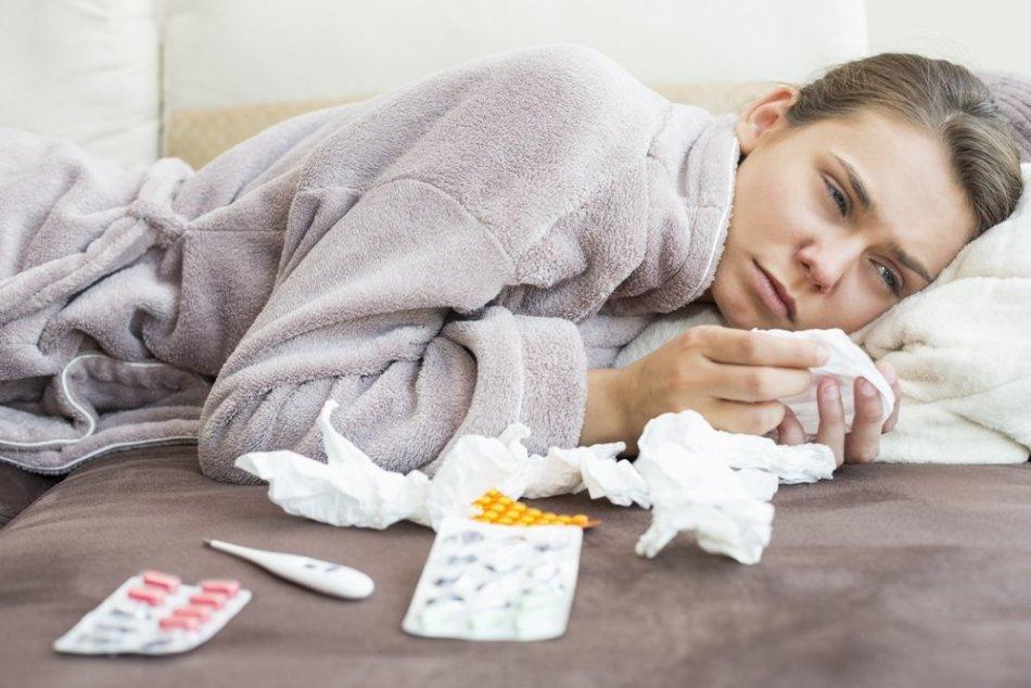Антибиотики бесполезны при вирусных заболеваниях
