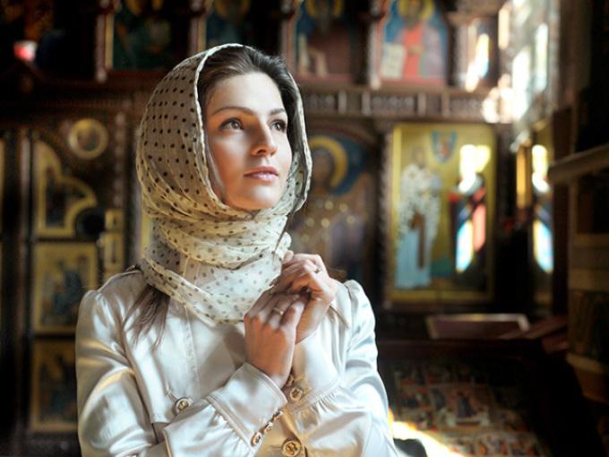 Молитва женщины во время месячных