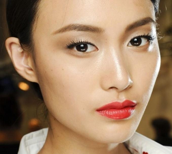 Макияж для узких азиатких глаз