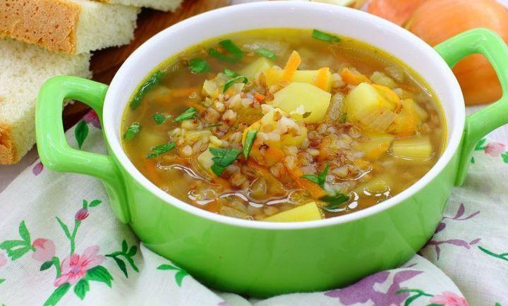 Суповая диета на гречневом супе
