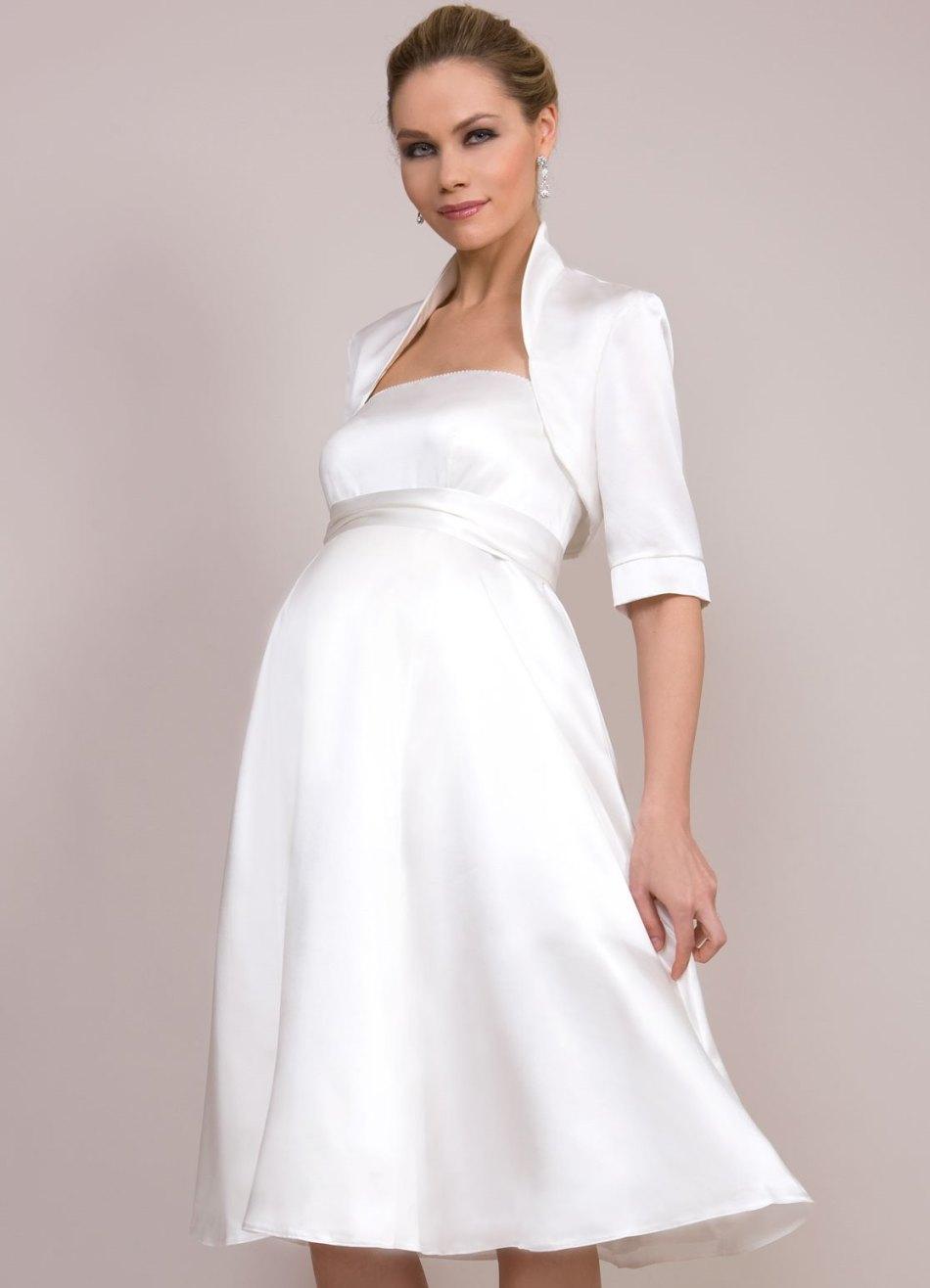 Платье для венчания беременным