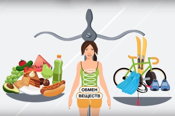 Спорт и правильное питание помогают усилить обмен веществ после 50 лет