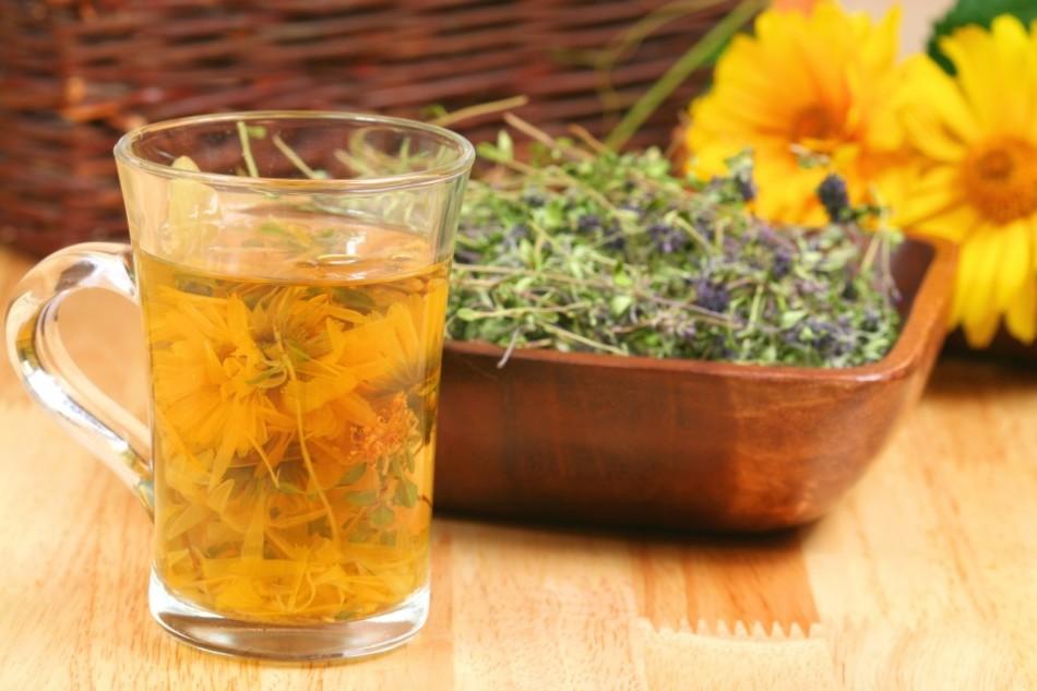 Травяные чаи для устранения пмс