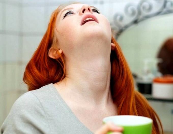 Полоскания горла при тонзиллите