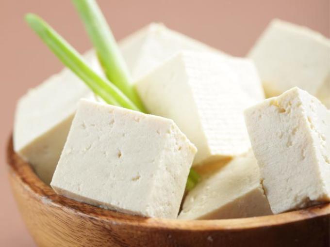 Блюдо с тофу