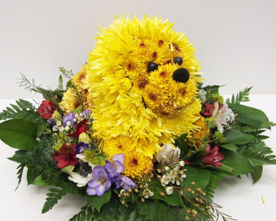 Необычное название букета цветов