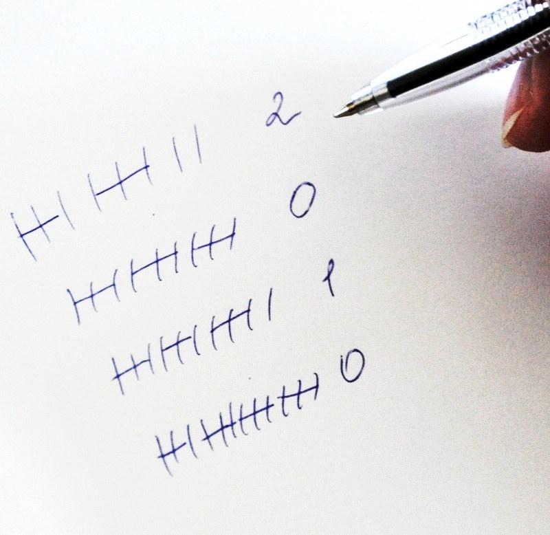 Гадание на палочках с помощью ручки и бумаги