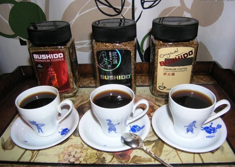 Рейтинг растворимого кофе: №2 bushido